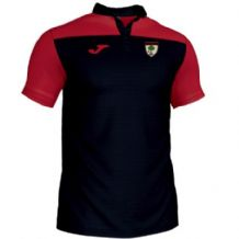 Ashgrove Rovers Youth Joma Crewe III Polo Black/Red Adults 2019